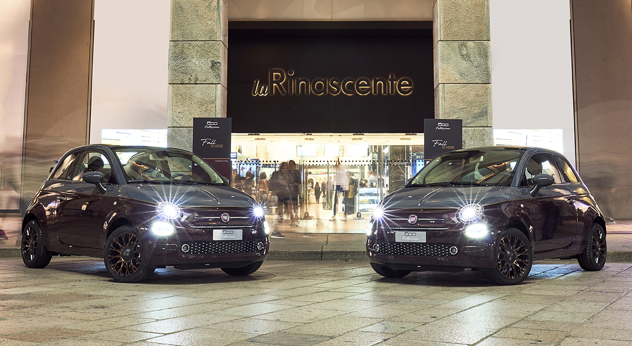 The New Fiat 500 Collezione Hits the Catwalk in Milan